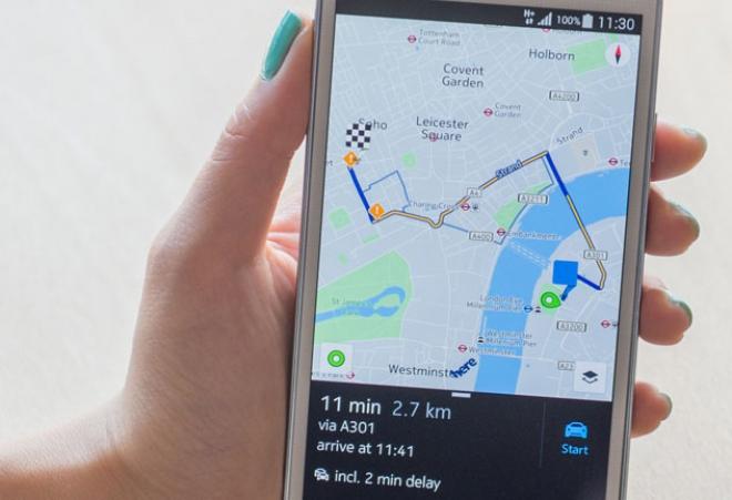 Nokia HERE beta disponibile per tutti gli Android 4.1 e successivi