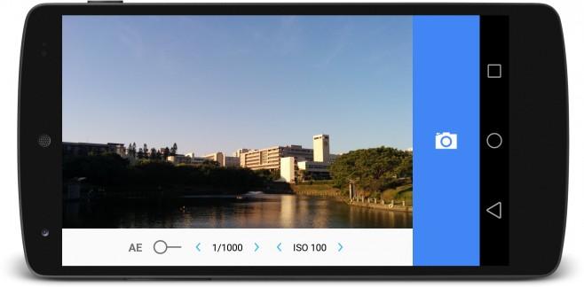 L Camera per Android 5.0 Lollipop – Nexus 5